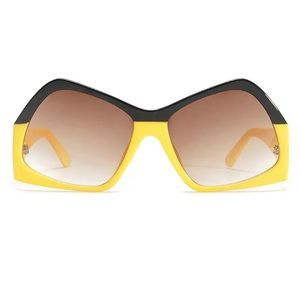 Oversized Sunglasses Fashion Futuristic Sunglasses